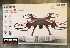 BRAND NEW Vivitar AeroView Video Drone DRC-446 HD WiFi GPS Real Time Video