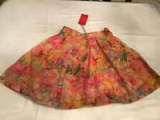 NWT OILILY ORGANDY SKIRT 128/8