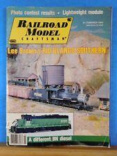 Railroad Model Craftsman Magazine 1984 March Lightweight Module Different BN Die