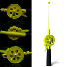34cm Winter Fishing Rods Ice Fishing Reels Pole Fishing Tackle Spinning Rods~