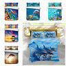 3D Ocean Animal Dolphin Turtle Duvet Cover Bedding Set Quilt Cover Pillowcase