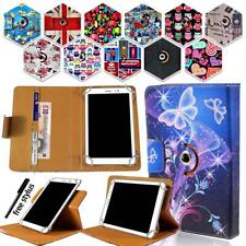 Universal Folio Rotating Stand Wallet Leather Cover Case For Various Tablet