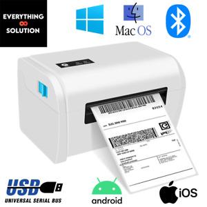 Thermal Label Printer 4x6 150x100mm USB Windows & Mac RoyalMail Hermes UPS 6x4