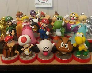 Super Mario Amiibo Nintendo Amiibos Figure Lot Collection Complete Your Set
