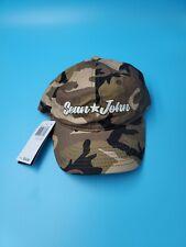 Sean John Men's Hat Brown One Size Camo Logo Baseball Cap Retail $32  #380
