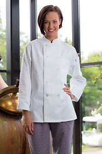 Uncommon Threads, Women's Napa Chef Coat, Black or White, Xs to 2Xl, 475