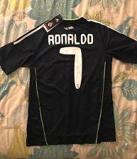 REAL MADRID CRISTIANO RONALDO SHORT SLEEVE 2010/11 AWAY JERSEY SIZE SMALL