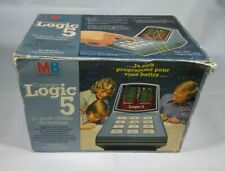 ★ MB LOGIC 5 - Jeu Electronique / Electronic Game / Tabletop 1977 ★
