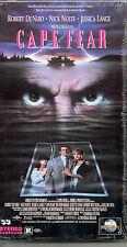 CAPE FEAR Robert DeNiro Nick Nolte Jessica Lance Gregory Peck VIDEO VHS