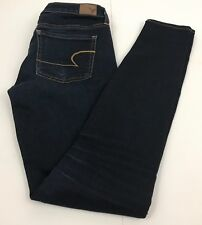 American Eagle Jegging Super Stretch Dark Wash Blue Jeans Women's 4 Regular