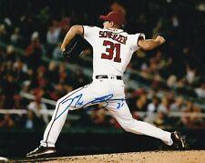 Max Scherzer Signed Autograph 8X10 Photo Washington Nationals