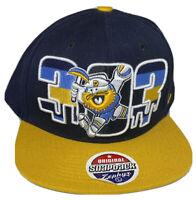 Denver Nuggets Zephyr Snapback Cap NBA Basketball The Z Hat Gold Miner