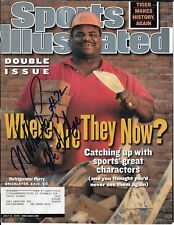 "WILLIAM""REFRIGERATOR"" PERRY CHICAGO BEARS SIGNED SPORTS ILLUSTRATED WITH TICKET"