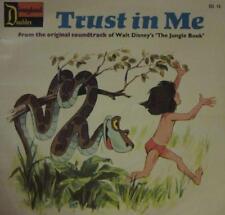 """Walt Disney(7"""" Vinyl)Trust In Me-Disneyland Doubles-DD 10-UK-1971-Ex/VG+"""