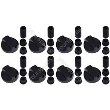 8 X Black Universal Stoves Belling New World Cooker Oven Hob Control Knobs