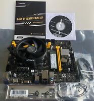 Biostar B450MH Motherboard AM4 Ryzen 3 3200G CPU SK HYNIX 256GB SSD NVME Cooler