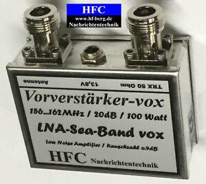 LNA-Sea-Band VOX Vorverstärker 156...162 MHz / 100 Watt Weißblechgehäuse (4050)