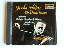Jascha Heifetz - Decca Masters Volume 1 By Jascha Heifetz (CD) W or W/O CASE