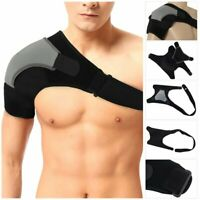 Hot Adjustable Shoulder Support Strap Neoprene Brace Pain Injury Arthritis Gym
