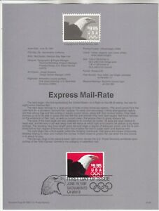 2541 $9.95 Eagle USPS First Day Souvenir Page