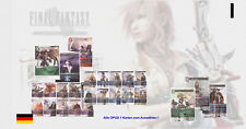 Final Fantasy TCG - OPUS 1 - Alle Karten C, R, H , L zum Auswählen (KEIN Foil) !
