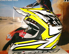 AIROH cr900 tc13 CROSS CASCO KTM Suzuki RM RM-Z NUOVO ENDURO QUAD M THOR T. Cairoli
