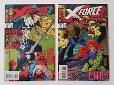 X-Force #30 & 31 NM/NM+ (Marvel,1993) Adam-X, Domino, Cable