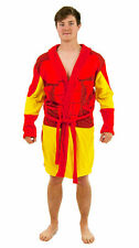 Adult Mens Marvel Comic Book Avengers Superheroes Design Dressing Gown Bathrobe 56165 - Hulk