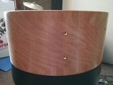 3ply  poplar/poplar/birch vintage style snare drum shell by erie ready to build
