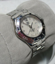 TAG HEUER Aquaracer Diamond Dial WAF1415 Lady woman MOP Face 300 Meters watch