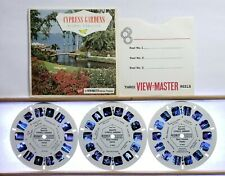Cypress Gardens Floral Paradise 3-reel Set A969 - GAF G1 ed A View-Master Packet