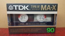 TDK MA-X90 : 1986 : MADE IN JAPAN : NEW & SEALED