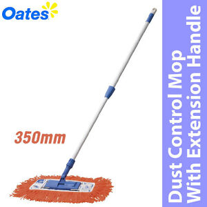 Oates 350mm Dust Control Mop With Extension Handle *Aust Brand