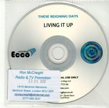 (DD531) These Reigning Days, Living It Up - 2012 DJ CD