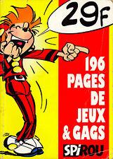 Spirou - Spécial Jeux & Gags - Eds. Dupuis - Décembre 1997