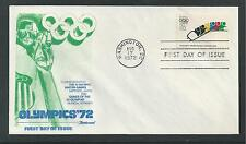 # 1461 WINTER OLYMPICS 1972 SAPPORO FLEETWOOD First Day Cover