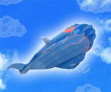 2.1M 3D HUGE Parafoil Whale Kite, Amazing Gift/ Summer