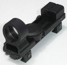 "Red & Green CQB Open Reflex Sight Scope 7/8"" & 3/8"" Rifle Shotgun Crossbow Rail"