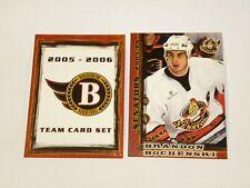 2005-06 Binghamton Senators AHL Team Issued Team Set - Rare Very Low Print Run