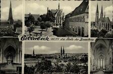 Billerbeck Westfalen Mehrbildkarte ~1950/60 Marktplatz Rathaus Dom Kirchen u.a.