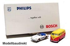 Piccolo Set Philips Bosch Limited Edition Porsche 356 VW Bus Schuco 77419 NEU&OV