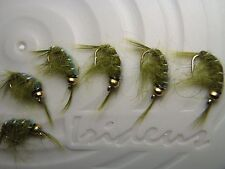 Irideus Feather River Bead Head Olive Everything Fly Fishing Flies Steelhead Fly