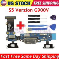 For Samsung Galaxy S5 Verizon G900V Charger Dock Charging Port Flex Cable +Tools