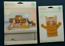 New Listing2 Martha Stewart Create Child Craft Kits Cat Puppet Noah's Ark Pipe Cleaner Kit