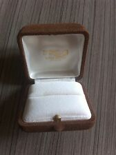 FRED : Old VINTAGE BOITE ECRIN Ring Box POUR BAGUE  BIJOUX