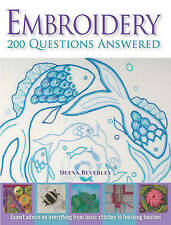 Deena Beverley, Embroidery: 200 Questions Answered, Very Good Book