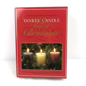 Yankee Candle 12 Days Of Christmas Boxed 12 Piece Votive Set 3 Candle Holders