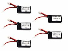 BTG 7.4V 250mAh 20C Upgrade Battery Losi Micro SCT Rally Truggy 1/24 pack of 5