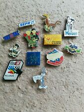12 Pin's Pins divers