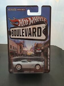🔥 HOT WHEELS BOULEVARD FORD SHELBY GR-1 CONCEPT  RaRe NICE  🔥